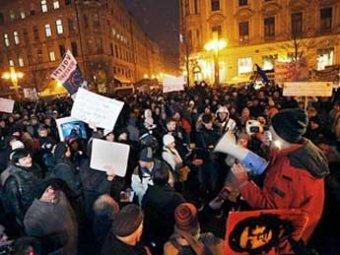 Революция докатилась до Европы: массовые выступления начались в Хорватии
