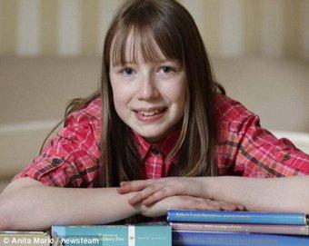11-летняя девочка превзошла IQ Альберта Энштейна
