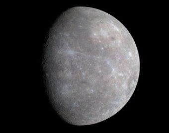 NASA впервые опубликовала снимки с орбиты Меркурия