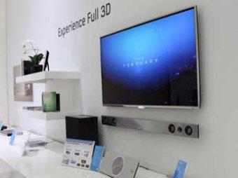 Компания Samsung представила первый «безочковый» 3D-телевизор