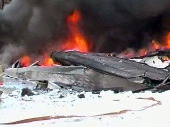 Очевидцы: летчики упавшего АН-148 отвели самолет от школы