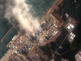Над «Фукусимой» поднялся столб радиоактивного дыма