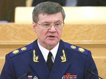 Спорткар протаранил кортеж Юрия Чайки в центре Москвы