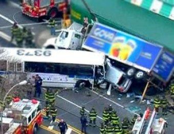 Крупное ДТП в Нью-Йорке: 13 погибших