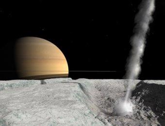 На спутнике Сатурна обнаружен загадочный источник тепла