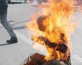 Житель Подмосковья совершил самосожжение на юге Москвы