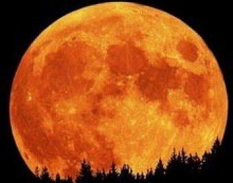 В ночь на 20 марта земляне наблюдали Суперлуние