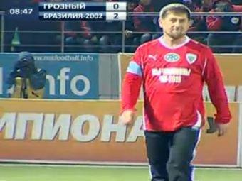 Сборная Бразилии обыграла в Грозном команду Рамзана Кадырова