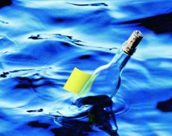 На Куршской косе подросток нашел послание в бутылке