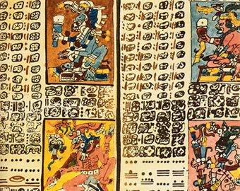Немецкий математик раскрыл тайну кода майя