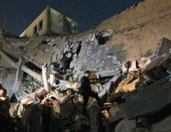 """По Ливии выпущено 124 """"Томагавка"""". Разрушена резиденция Каддафи"""