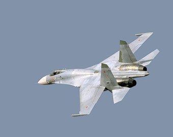 Истребитель Су-27 упал на Дальнем Востоке
