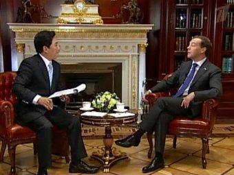 Медведев впервые признал разногласия с Путиным