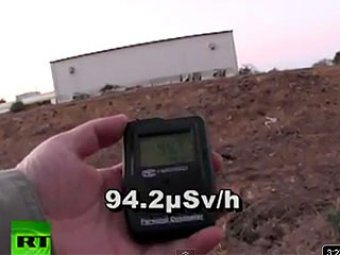 """Японский журналист сделал видео из """"зоны смерти"""" АЭС """"Фукусима"""""""