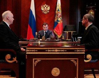 Медведев вызвал на ковер глав конфликтующих силовых ведомств