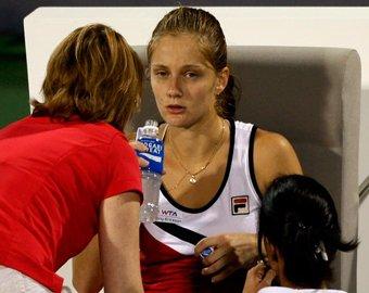 Российская теннисистка потеряла сознание на корте третий раз подряд