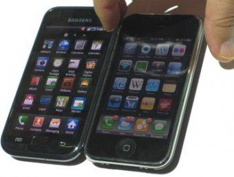 Apple подала в суд на Samsung, обвинив в копировании iPad и iPhone