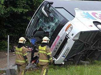 В Турции в аварии разбился автобус с россиянами: 24 человека ранены