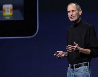 Стив Джобс представил новую разработку Apple - iCloud