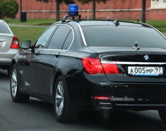 Автомобиль Кудрина сбил мужчину на Арбате