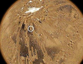 """Астроном-любитель обнаружил на Марсе """"базу пришельцев"""""""