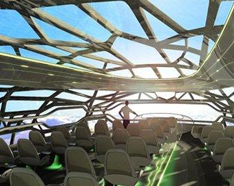 Первый прозрачный самолет выпустят в 2050 году