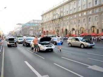 В Белоруссии автомобилисты подняли бунт против повышения цен на бензин