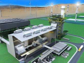 Первую в мире солнечно-газово-ветряная электростанцию построят в Турции