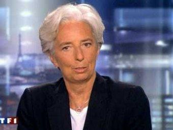 Впервые в истории МВФ валютный фонд возглавила женщина