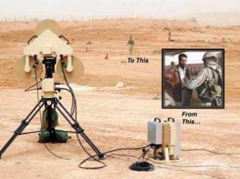 Американских солдат вооружат портативными сканерами террористов
