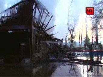 За ночь в Астрахани сгорело четыре дома: 3 человека погибли, 9 ранены