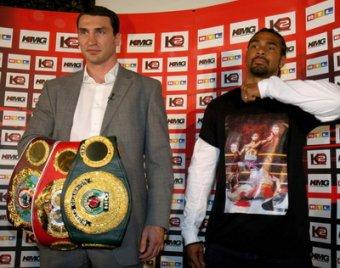 Чемпионы дали прогноз на бой Кличко – Хэй