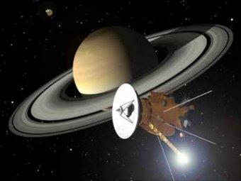 НАСА удалось заснять гигантскую бурю на Сатурне