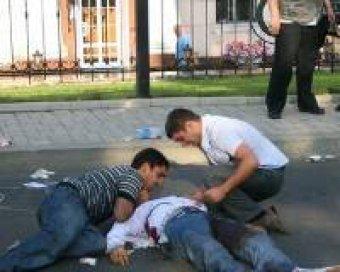 В Подмосковье отец застрелил убийцу своего сына прямо возле суда