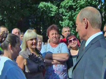 В Смоленске Путин устроил разнос губернаторам и обратился за медпомощью