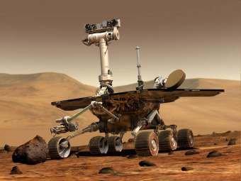 Американский марсоход подобрался к гигантскому кратеру: первые снимки