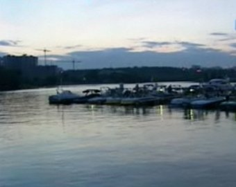 На Москве-реке на большой скорости столкнулись два катера