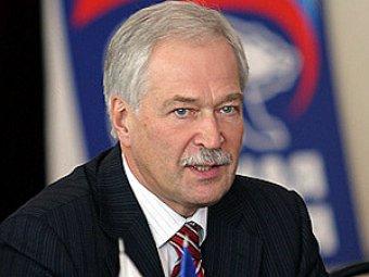 Грызлов назвал кандидатуры на пост губернатора Петербурга