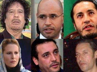 Семью Каддафи с десятками слуг нашли в Алжире