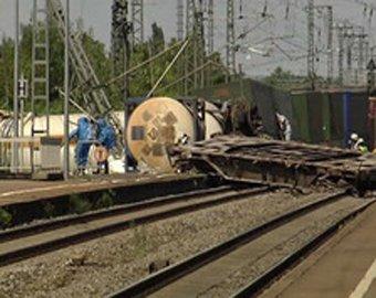 Под Челябинском столкнулись товарные поезда