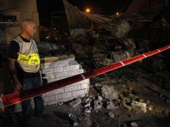 """""""Хамас"""" обстрелял Израиль ракетами: есть жертвы"""