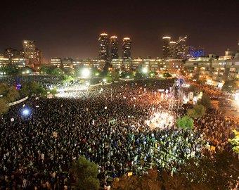 В Израиле прошла самая массовая акция протеста против роста цен
