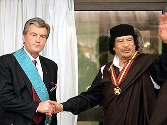 СМИ: Каддафи спонсировал «оранжевую» революцию на Украине