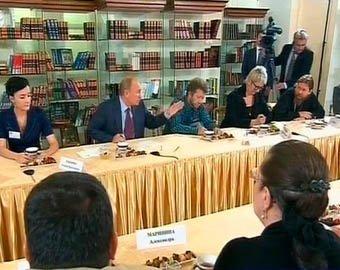 Писателя Прилепина после неудобных вопросов Путину не пустили в прямой эфир