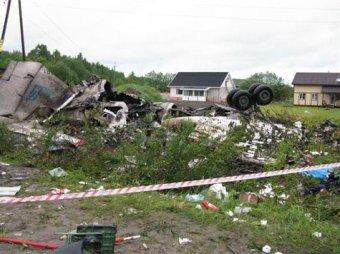 Ту-134 под Петрозаводском угробил пьяный штурман