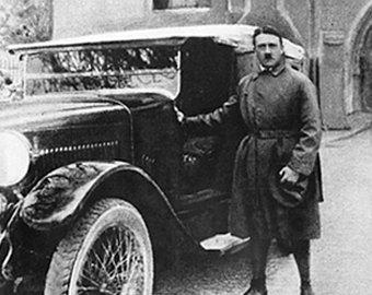 Гитлера штрафовали за превышение скорости