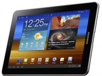 Планшет Galaxy Tab 7.7 от Samsung запретили к продажам