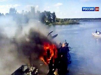 В Сети появилось видео с места крушения ЯК-42 под Ярославлем
