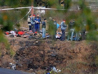 СМИ: установлена причина авиакатастрофы ЯК-42 под Ярославлем