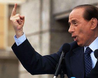 Скандал: Берлускони намерен уехать на х** из своей с**ной страны